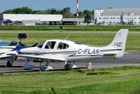 C-FLAS @ CYHU - Cirrus Design SR-22 [0468] St. Hubert~C 09/06/2012 - by Ray Barber