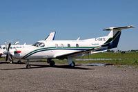C-GBTL @ CYHU - Pilatus PC-12/45 [159] (Pascan Aviation) St. Hubert~C 09/06/2012 - by Ray Barber