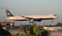 N174US @ MIA - USAirways A321