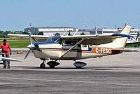 C-FESC @ CYHU - Cessna P.206A Super Skylane [P206-0189] St. Hubert~C 09/06/2012 - by Ray Barber