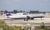 N177US @ MIA - USAirways A321