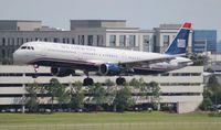 N179UW @ TPA - USAirways A321