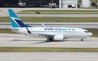 C-GWJE @ KFLL - Boeing 737-700 - by Mark Pasqualino