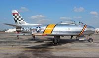 N188RL @ YIP - F-86 Sabre Smokey