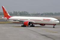 VT-ALM @ VIDP - 'Himachal Pradesh' taxiing into IGIA T-3. - by Arjun Sarup