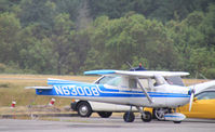 N63008 @ TIW - N63008 Cessna 150, somewhat lackng in the tailfeather department, at Tacoma Narrows, WA - by Pete Hughes