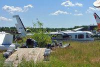 C-FATR @ CZVL - Rockwell Commander 681 [6020] Edmonton-Villeneuve~C 24/07/2008 - by Ray Barber