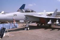 165799 @ LFPB - On display at 2001 Paris-Le Bourget airshow as NJ-125 (VFA-122 squadron). - by J-F GUEGUIN