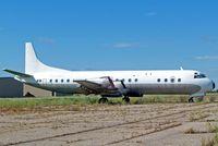 C-GZYH @ CYQF - Lockheed L-188A Electra [1124] (Air Spray 1967 Ltd) Red Deer~ C 23/07/2008 - by Ray Barber