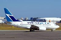 C-GWJU @ CYVR - Boeing 737-6CT [34289] (Westjet) Vancouver International~C 21/07/2008 - by Ray Barber