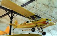N75FD - N75FD Bakeng Duce in the museum at Fairbanks, AK - by Pete Hughes