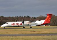 C-GLFS @ EGHH - Returning to Canada from Singapore Air Show.