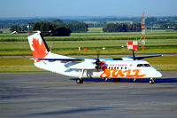 C-GTAQ @ CYEG - De Havilland Canada DHC-8-301 Dash 8 [180] (Air Canada Jazz) Edmonton-International~C 25/07/2008