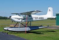 CF-HSG @ CZVL - Cessna 180 [31048] Edmonton-Villeneuve~C 24/07/2008 - by Ray Barber