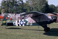 HB-OXT @ LFFQ - On display at La Ferté-Alais, 2004 airshow. - by J-F GUEGUIN