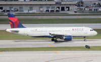 N311US @ FLL - Delta A320