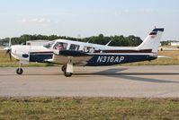 N316AP @ LAL - Piper PA-32R-300