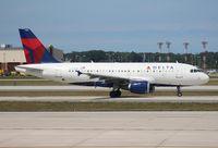 N322NB @ DTW - Delta A319