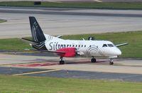 N327AG @ TPA - Silver Airways Saab 340