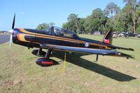 N332HS @ LAL - DHC-1B Chipmunk - by Florida Metal