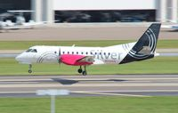 N334AG @ TPA - Silver Airways Saab 340B