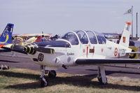 146 @ LFFQ - TB-30 Epsilon c/n 146, with code 315-ZK (not ZX) on display at La Ferté-Alais 2004 airshow. - by J-F GUEGUIN