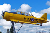 20370 @ CYQF - Canadian Car & Foundry T-6J Harvard IV [CCF4-161] Red Deer~C 23/07/2008 - by Ray Barber