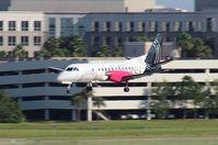 N347AG @ TPA - Silver Airways Saab 340B