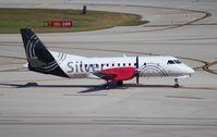 N347AG @ FLL - Silver Airways Saab 340B