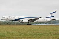4X-EBV @ EGGW - London Luton - El Al Israel Airlines - by KellyR115