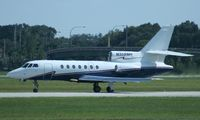 N358MH @ ORL - Falcon 50