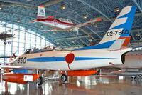 02-7960 @ RJNH - Blue Impulse Sabre on display at JASDF Hamamatsu Kohokan. - by Arjun Sarup