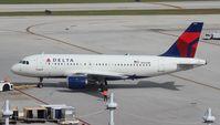 N366NB @ FLL - Delta A319