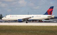 N376NW @ MIA - Delta A320