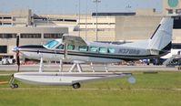 N378RB @ PBI - Cessna 208 float plane