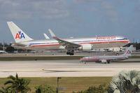 N390AA @ MIA - American 767-300