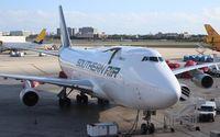 N400SA @ MIA - Southern Air 747-400
