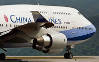 B-18209 @ VHHH - China Airlines - by Wong C Lam