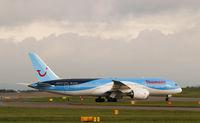 G-TUIA @ EGCC - living the dream at manchester 787 dreamliner thomson - by alex kerr
