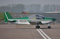 G-NSOF @ EGSH - About to depart from Norwich. - by Graham Reeve