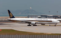 9V-SYH @ VHHH - Singapore Airlines - by Wong C Lam