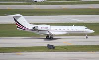N403QS @ FLL - Gulfstream IV - by Florida Metal