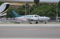 N404PJ @ FLL - Cessna 402C