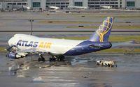 N409MC @ MIA - Atlas 747-400F