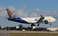 N412MC @ MIA - Atlas Air 747-400