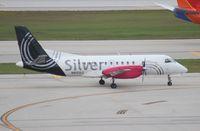 N412XJ @ FLL - Silver Airways Saab 340B