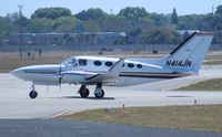 N414JN @ ORL - Cessna 414A