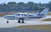 N414JN @ ORL - Cessna 414A