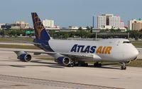 N415MC @ MIA - Atlas 747-400