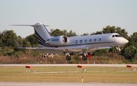 N416QS @ ORL - Net Jets Gulfstream IV